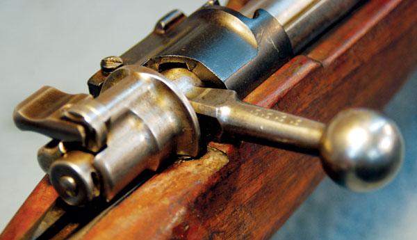 Mauser Bent Bolt Handle