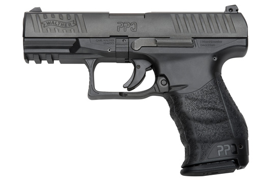 The polymer-frame PPQ features the Walther Quick Defense Trigger, dual slide serrations,