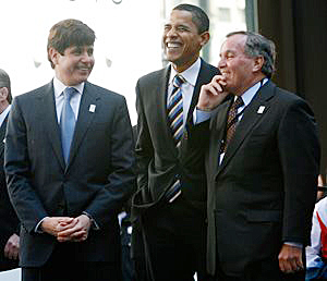 Disgraced former Illinois Governor Rod Blagojevich was sentenced today to 14 years in prison for,
