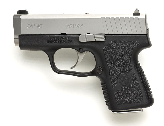 The CM40 is chambered in .40 S&W, has a 3-inch barrel and an overall length of 5.47 inches,
