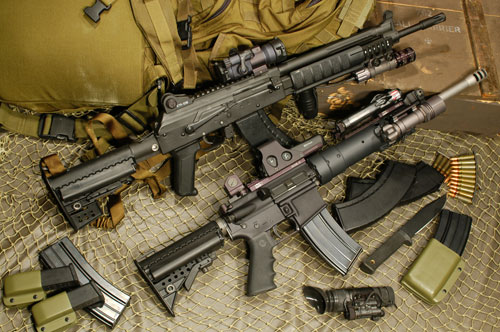Kalashnikov gizmos trailed in the wake of accessories for the AR-15, but now have come into their