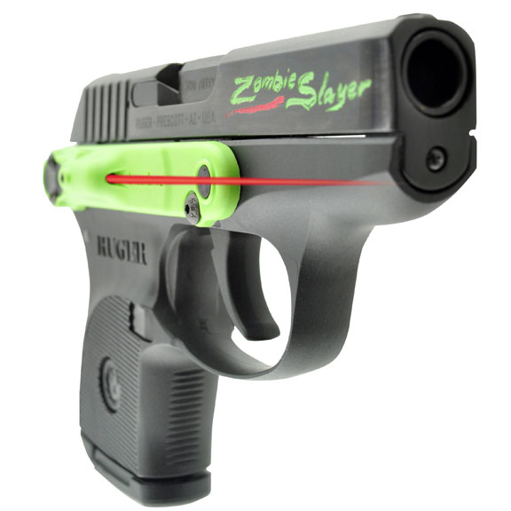 LaserLyte Zombie Killer Editions for Ruger & Kel-Tec .380 and 9mm Pistols