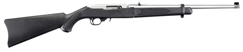 The new Ruger 10/22 Takedown Rifle offers convenient transport and storage options. The barrel and