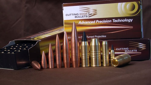 Cutting Edge Bullets offers a line of extremely accurate solid bullets that are precision machined