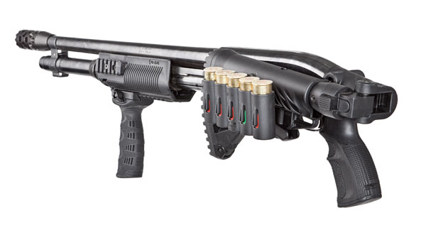 Mako/FAB Defense Rail-mounted Shotgun Shell Carrier