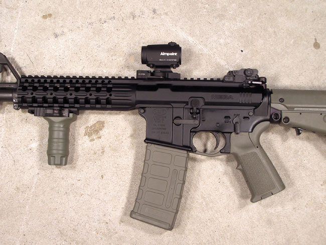 The next evolutionary change in the way we buy AR type rifles may be the monolithic upper