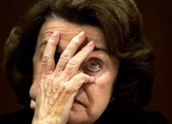Former San Francisco mayor and California Senator Dianne Feinstein told California delegates at the