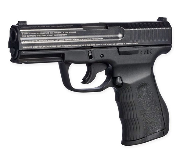 ATI's FMK 9C1 Generation 2 9mm pistol comes with a Fast Action Trigger system that features a