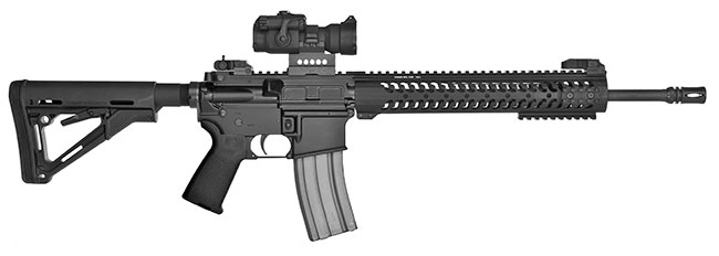 The DTI Evolution Rifle is an excellent choice for any sporting application including 3-gun