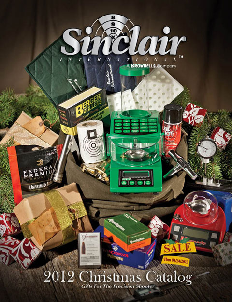 Sinclair International's 2012 Christmas Catalog is filled with hundreds of sale items that are sure