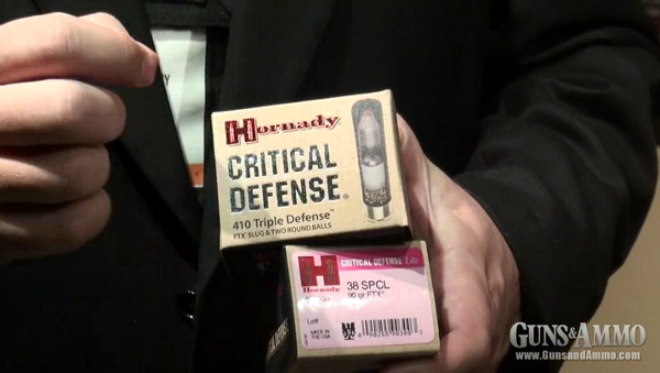 Introducing Hornady Critical Defense .410 and Critical Defense Lite