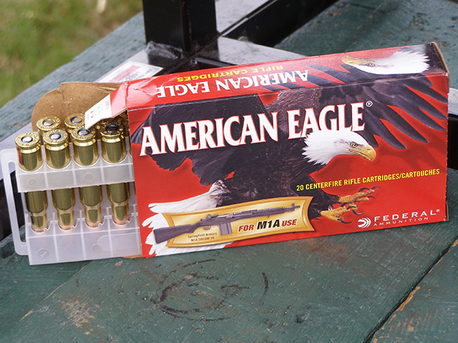 Ammo to Feed M1A Rifles