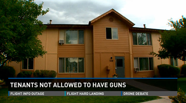 Colorado Landlord: Lose Guns or Leave