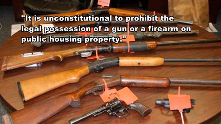 Partnership Property Management Guns