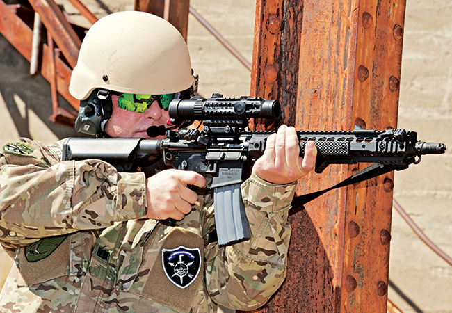 Ultimate Gas Impingement AR: KAC SR-15E3 SBR Review