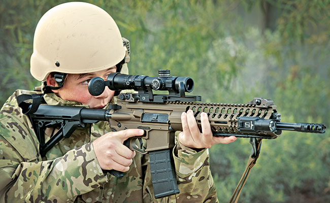 'Firearms News' received for test and evaluation a rifle that will be a serious contender in the wildly popular AR-15 configuration