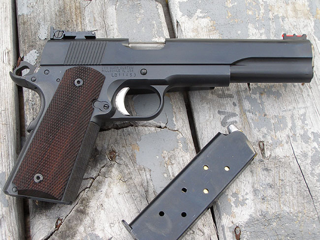 Gus Norcross gives tips and tricks on building A 1911 long slide.