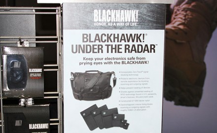Protect your portable electronic devices from theft with new Blackhawk Under the Radar Bags.