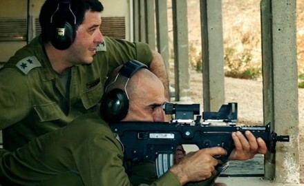 David Fortier speaks with the man who'wrote the book on how to shoot in the Israeli Defense Forces