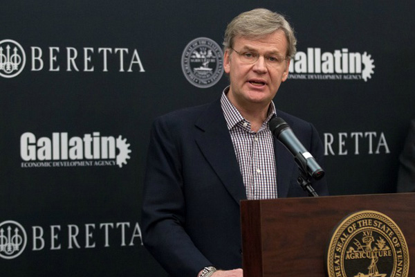 Beretta To Open Tennessee Plant