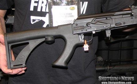 The new Slide Fire Saiga Stock introduces bump-fire technology to the Saiga platform.