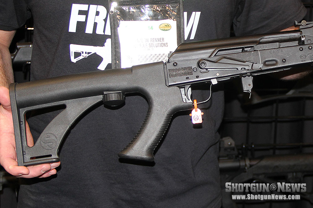 First Look: Slide Fire Saiga Stock