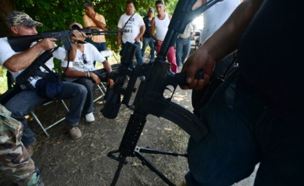 We have reported on a couple of occasions about the rise of citizen militia groups in Mexico, where