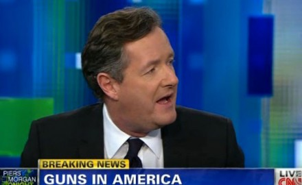 Tiresome British tabloid hack Piers Morgan's CNN talkfest is being canceled next month.  The former