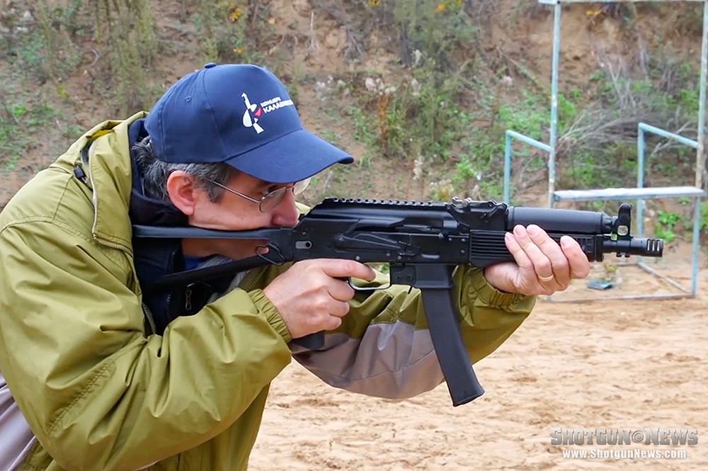 At the Range: Kalashnikov Concern Vityaz-SN PP-9x19 Submachine Gun