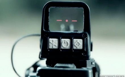 Discussed and demonstrated how the MSE AQC Red Dot Reflex Sight was designed with operators in mind