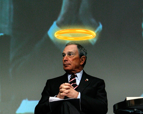 "Bloomberg: ""I Have Earned My Place In Heaven"""