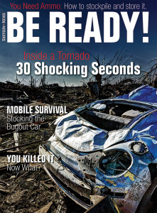 This article about digital data storage appears in Be Ready! magazine, available on newsstands from May 27 to August 25, 2014.  Buy a copy today to prepare yourself for the worst. Disaster can strike at any time.