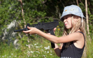 Bad Idea: 9-Year-Old & An Uzi