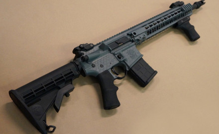The polymer P* Grip is designed for AR sporting rifles and allows for more control of your weapon.