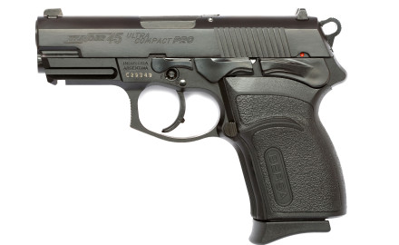 Available in 9mm, .40 and .45 caliber the Thunder Ultra Compact Pro pistols feature ambidextrous