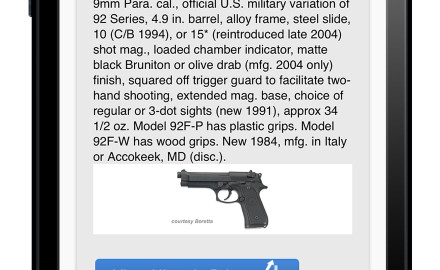 The world leader in firearms information and values is proud to announce the launch of a new app