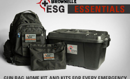 Brownells has released its own emergency and survival gear kits tailored to meet customers' needs
