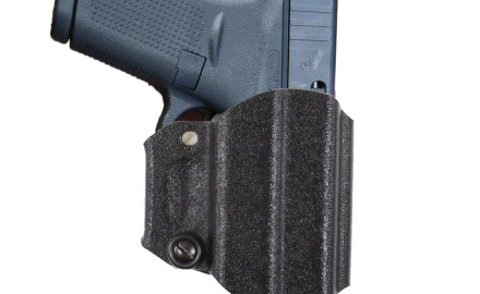 With DeSantis' CHAMP holster moving one screw allows you to change this model from right to left