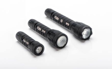The new Alpha Flashlights are the smallest flashlights Elzetta has ever produced but produce 315
