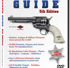 Firearms Guide: 5th Edition is the world's most extensive firearms, ammo and air guns reference