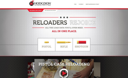 Hodgdon has launched three new how-to videos on its popular Reloading Data Center, which is not