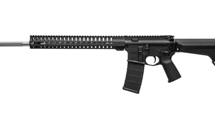 CMMG's 5.56mm Mk4 V and Mk4 V2 rifles come with fluted 24-inch fluted 416 stainless steel barrels.