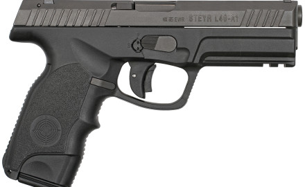 Steyr Arms has announced the arrival of the .40 S&W version of its full-size L-A1 service