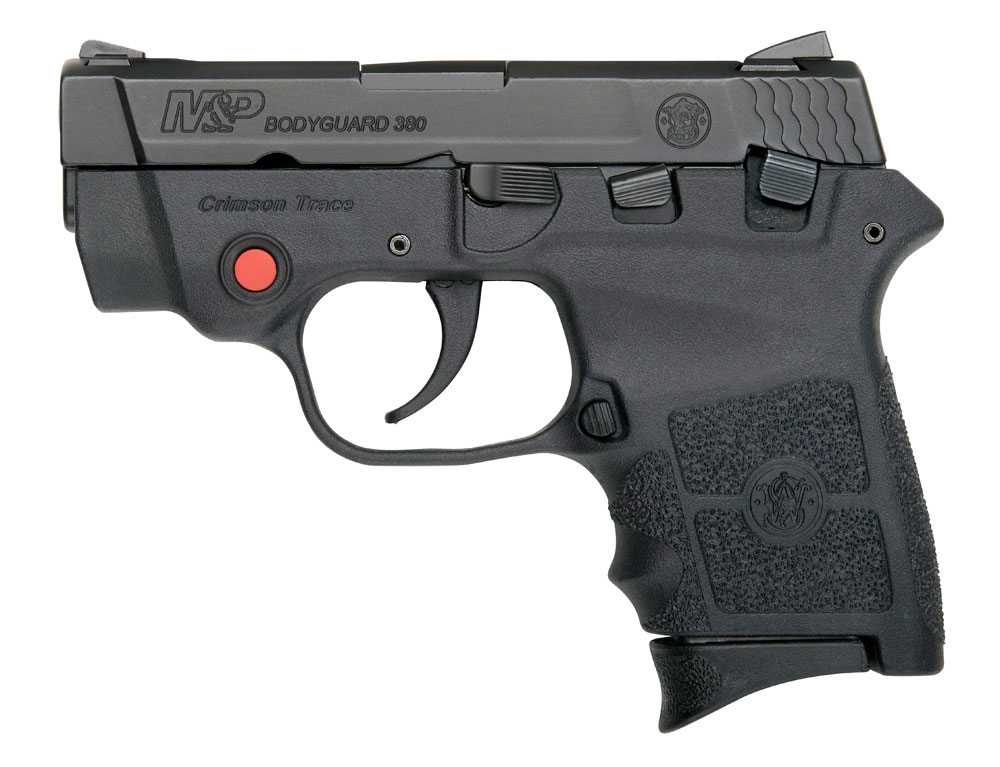 S&W M&P BODYGUARD Handguns with Crimson Trace Laser Sights
