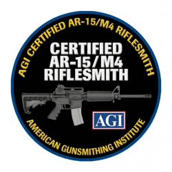 AGI's Certified AR-15/M4 Riflesmith Course includes DVDs with Complete Disassembly and Reassembly,