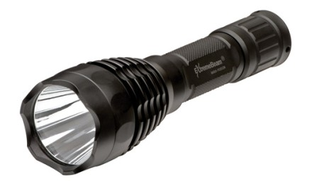 The M600 Fusion is capable of projecting a wide-set beam to distances of 330 meters. The reflecting