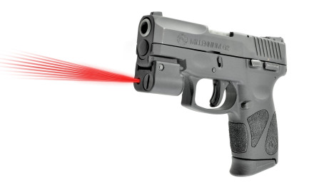 LaserLyte now offers the CM-MK4 dual laser for Taurus handguns. The CM-MK4 handgun laser displays a