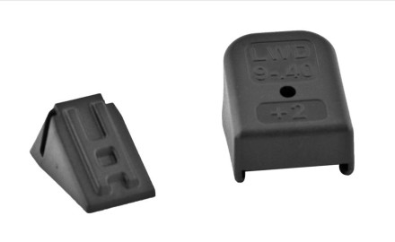 Lone Wolf Distributors +2 magazine extension will add two rounds to all standard (hi-capacity) 9mm,