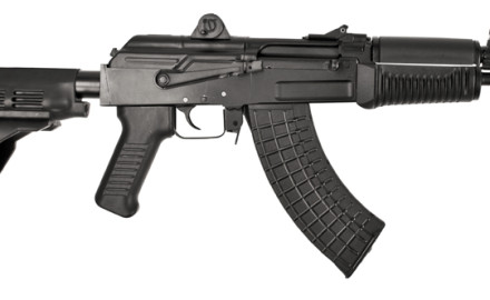 Arsenal, Inc. now offers its Bulgarian-made SAM7K 7.62x39 cal. pistol with Sig Sauer's SB15 pistol