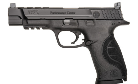 S&W's Performance Center now offers a competition ready version of their M&P Pistol with